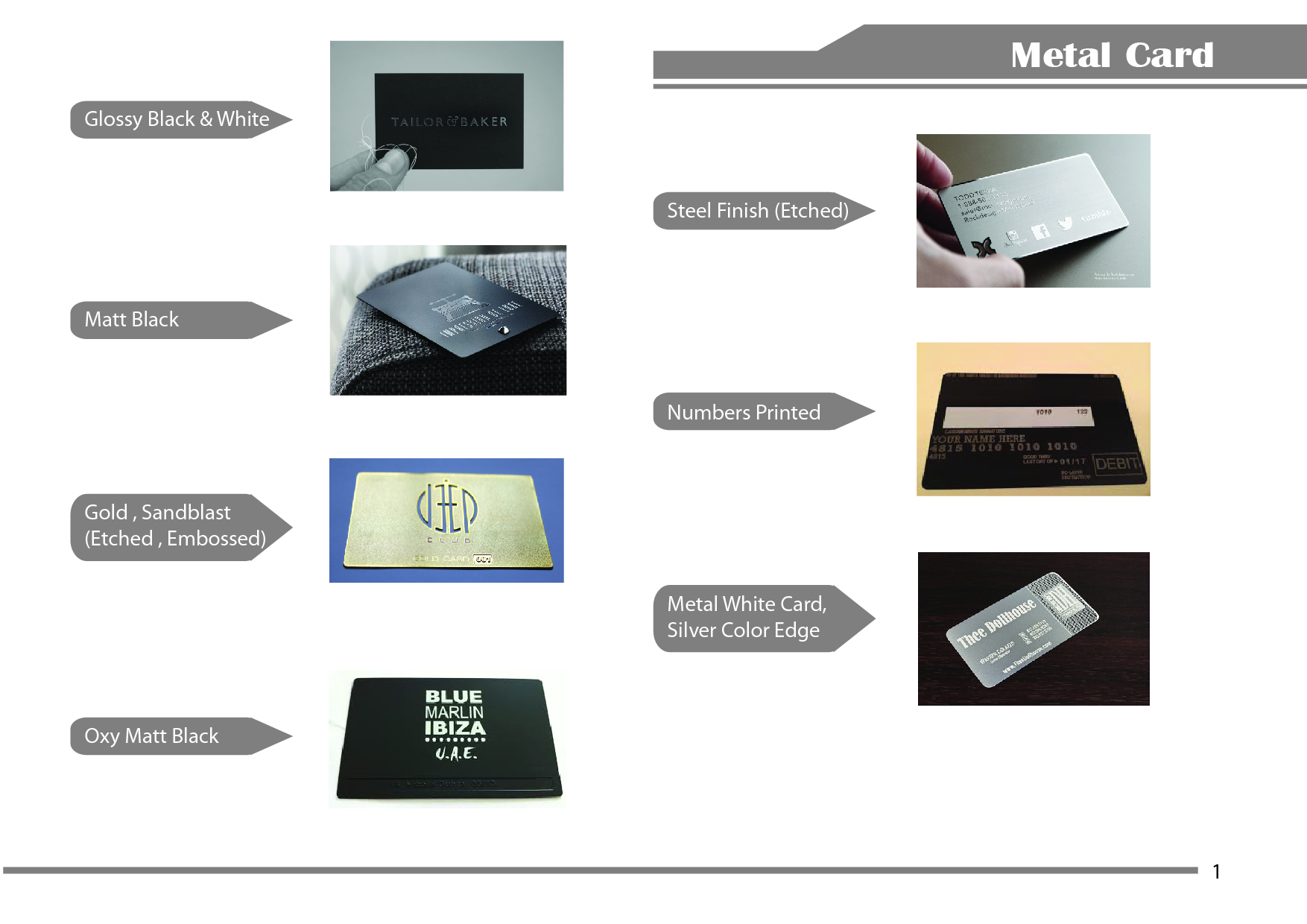 Description metal card-01