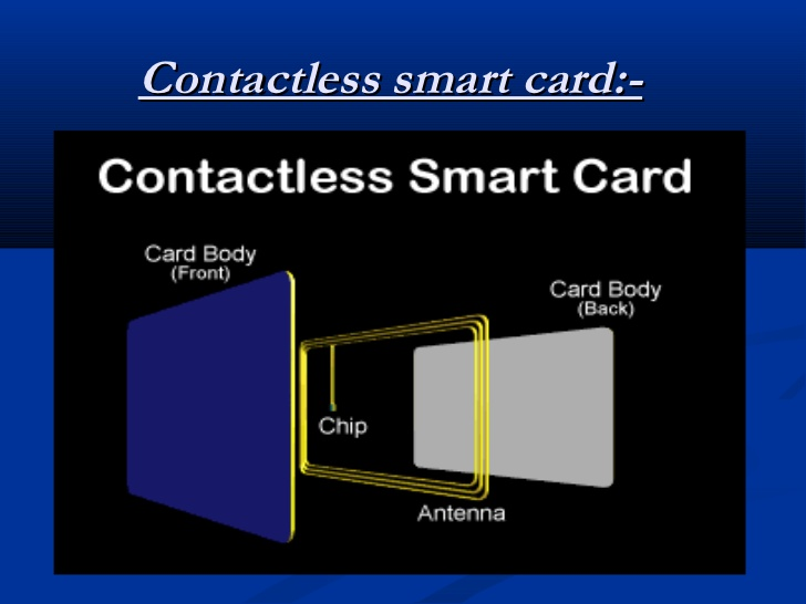 contactless smart card sample 1
